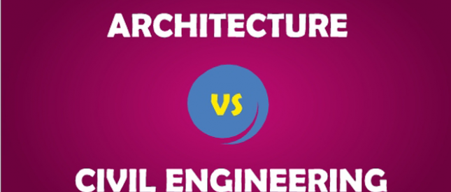الفرق بين المهندس المدني والمعماري