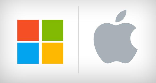 مايكروسوفت تنقذ ابل من الافلاس