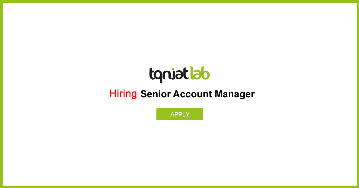 Tqniat Lab Hiring Senior Account Mananger (web-design-sales-job)